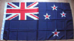 New Zealand Large Country Flag - 3' x 2'.